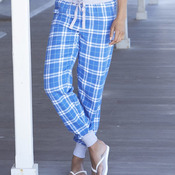 Women's Flannel Tailgate Jogger